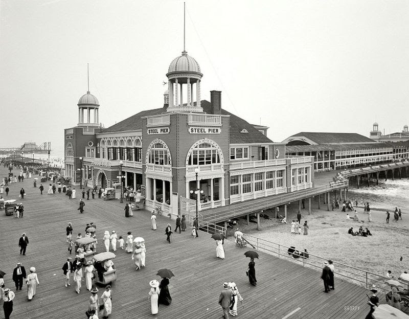 The Jersey Shore,Atlantic City 1910