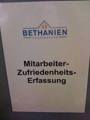 Bethanien Krankenhaus: Sprache