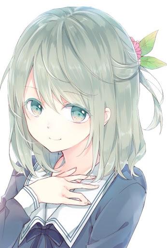 Cute Short Haircuts Anime Hairstyle Girls