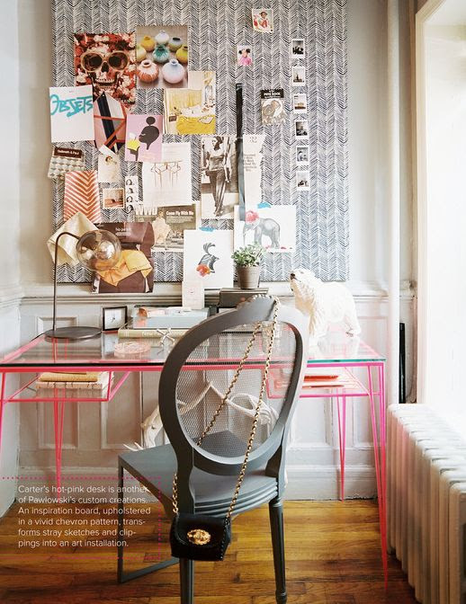 Little Bits of Lovely: Wednesday Workspace #PRWorkspace