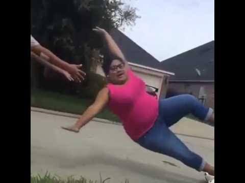 mujer caida