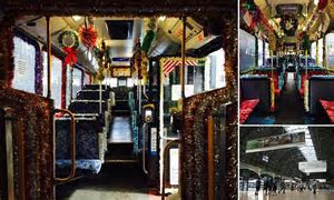 Christmas Grinches ban decorations at train stations over