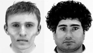 Phantombilder der Tatverdächtigen