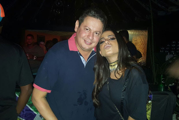 Anitta e Marcos Araújo