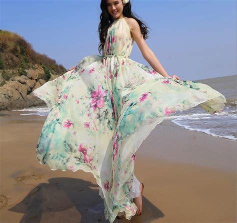 Floral Lightweight Sundress, Wedding Guest Maxi Dress
