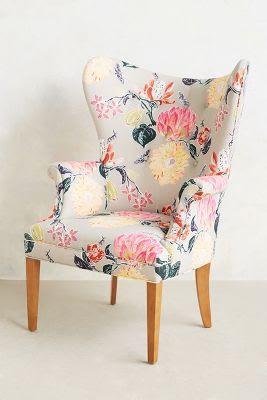 Lotus wingback chair