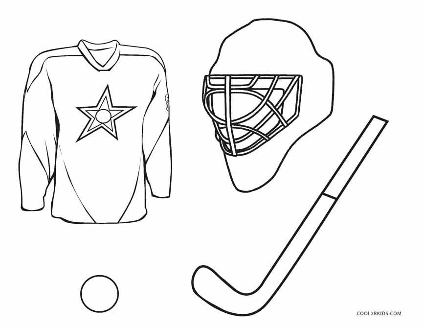 Free Printable Hockey Coloring Pages For Kids Cool2bkids Coloring Pages