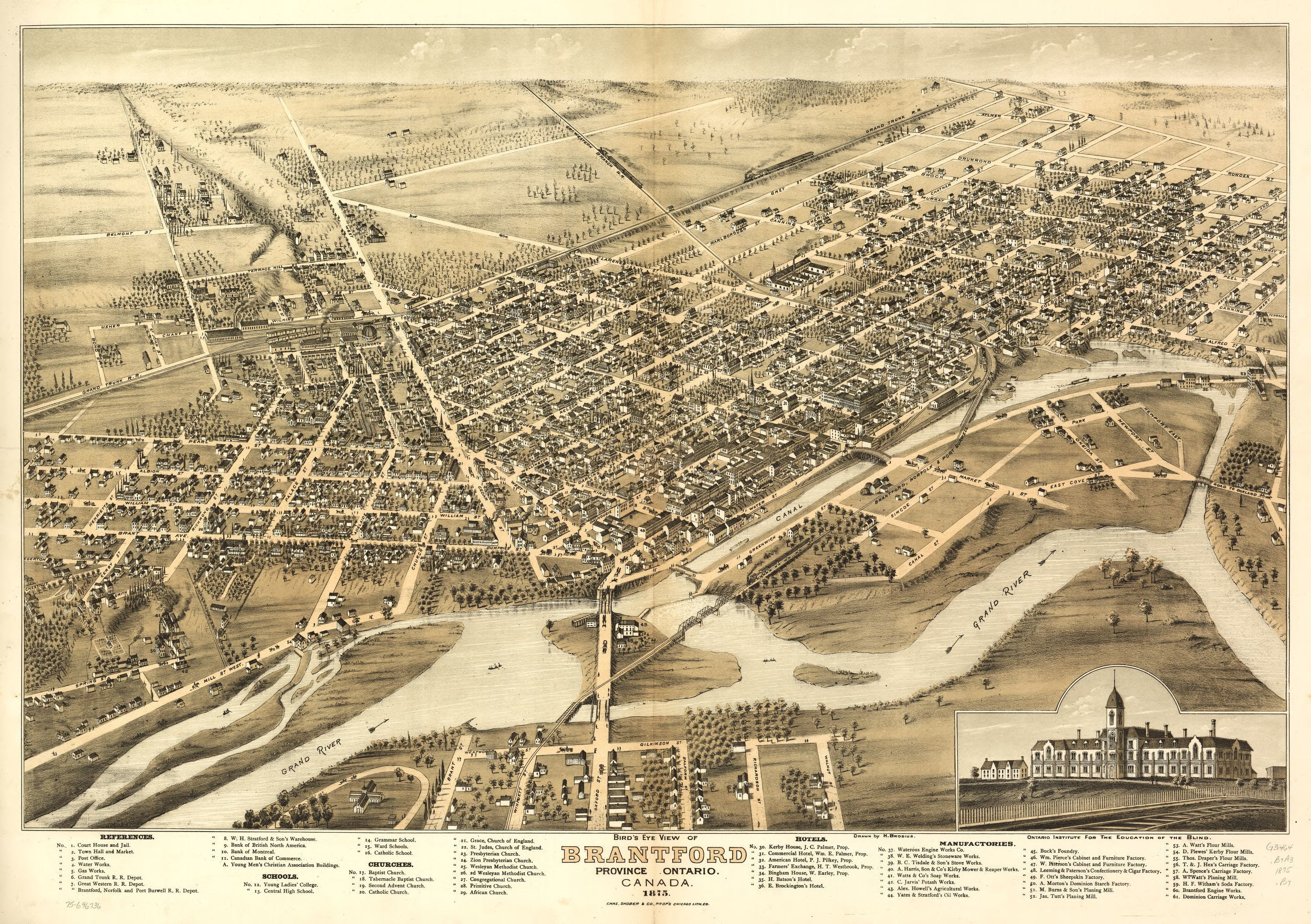 Panoramic Maps Available Online Library Of Congress
