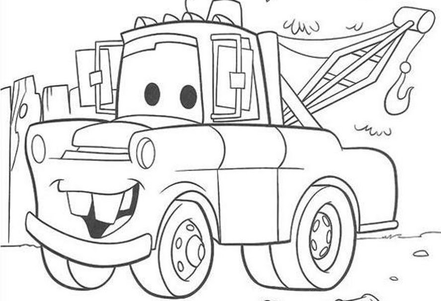 mater from cars coloring pages3