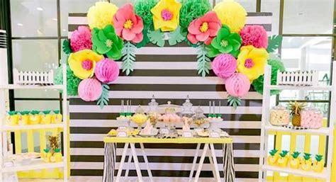 Kara's Party Ideas Tropically Flamingo Themed Birthday