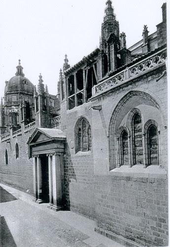 Catedral de Toledo, España, puerta llana