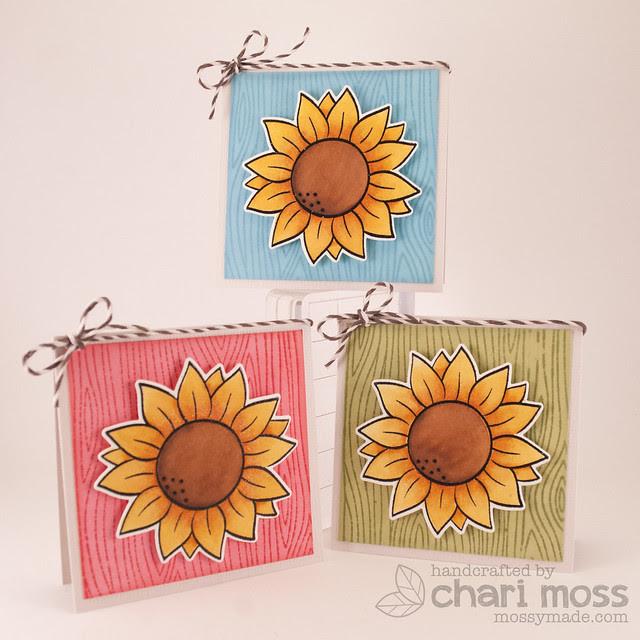 SunflowerMiniCards