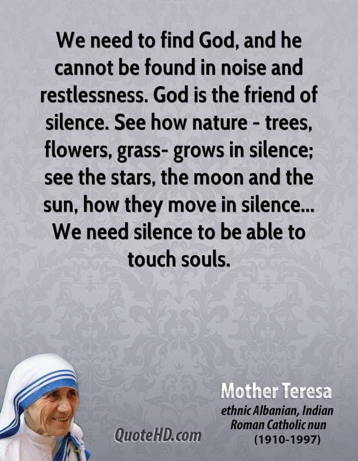 Mother Teresa Nature Quotes Quotehd