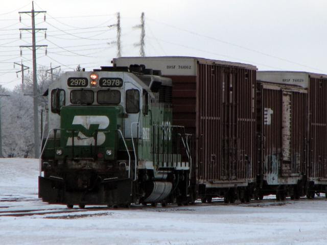 BNSF 2978 in Winnipeg
