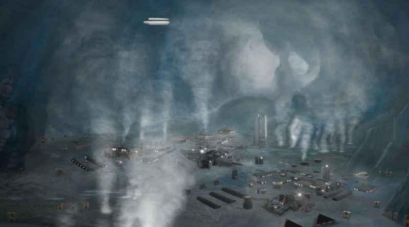 5 Cabal Antarctica Base