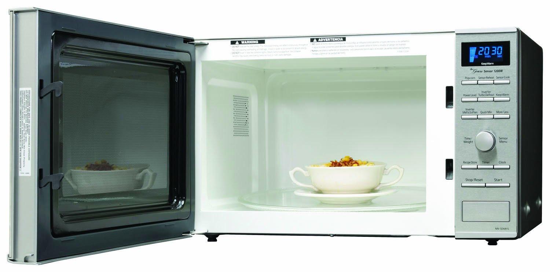Panasonic Nn Sd681s 1 2cuft 1200 Watt Microwave With