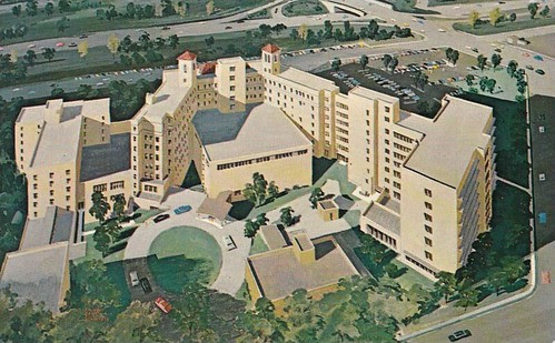 Deaconess Hospital with additions