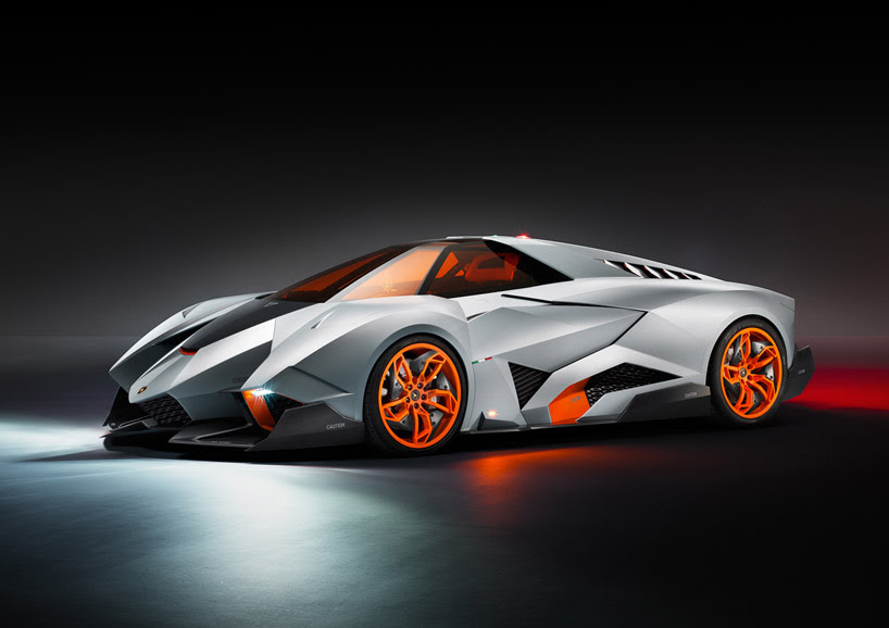 lamborghini egoista concept for 50th anniversary