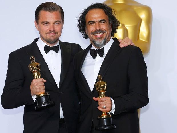 Oscar: Leonardo DiCaprio foi o melhor ator e o diretor Alejandro Gonzáles Iñárritu o melhor diretor, ambos por 'O regresso' (Foto: REUTERS/Mike Blake)