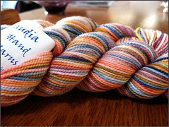 Blue Terra Cotta Yarn