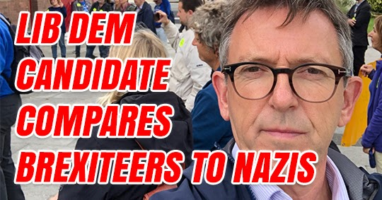 Lib Dem Compares Brexit to Nazi Germany and Domestic Abuse