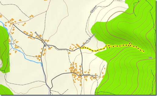Šumik - zemljevid