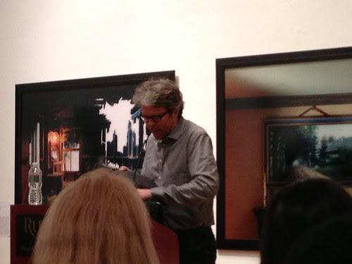 Jonathan Franzen, at Rutgers-Newark
