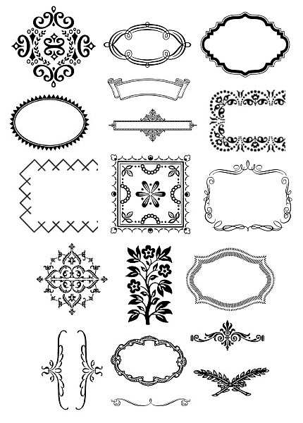 and get access to a bevy of lovely icons borders ornaments and patterns