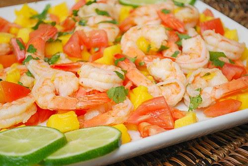 Shrimp & Mango Salad