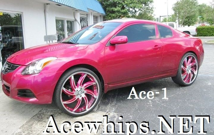 Ace 1 Female S Candy Magenta Pink Nissan Altima Coupe On