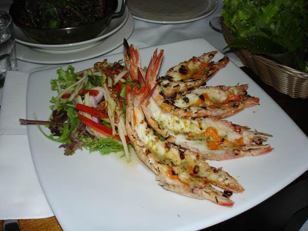 La Mint - Halong Bay Style Grilled Prawns