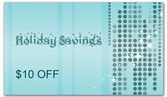 CPS-1049 - salon coupon card