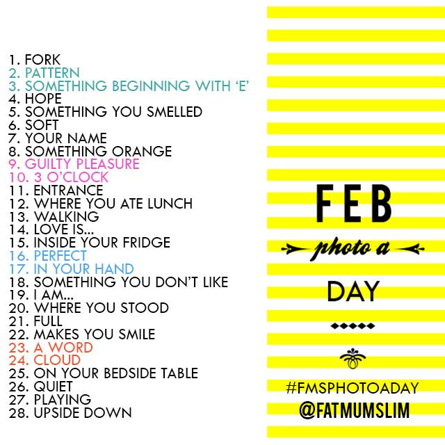 February Photo A Day Challenge - Are you ready for some photo-taking fun?