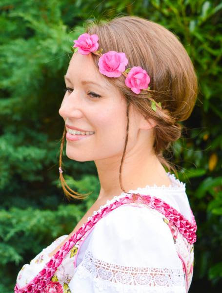 Dirndl Frisuren Hairdesign Lifestylede