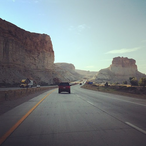 Day208 Last road trip photo. Taken in #wyoming. Miss California already!!!! I need to live there! 7.27.13 #jessie365