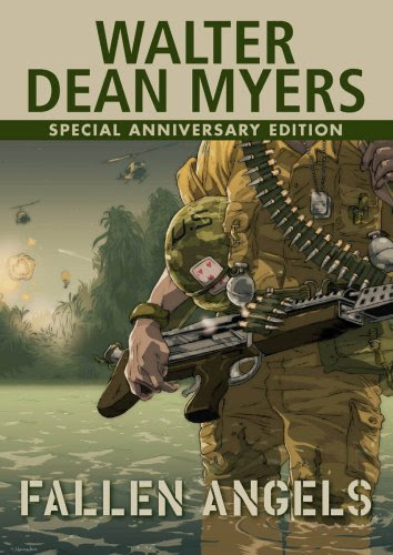 book cover of Fallen Angels by Walter Dean Myers