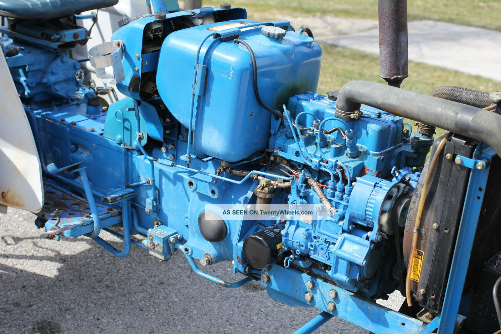 29 Ford 1710 Tractor Parts Diagram