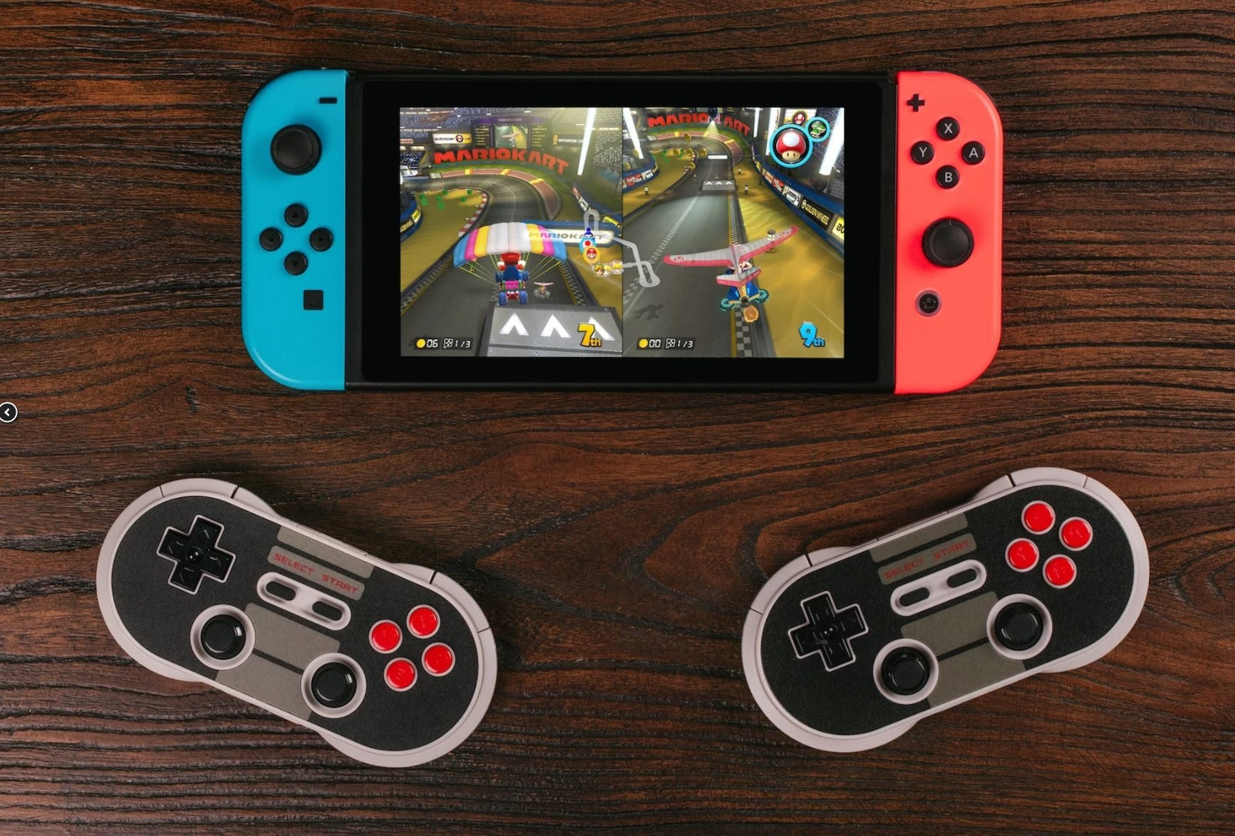 8Bitdo controllers can now be used on Switch, I'd recommend playing Ultra Street Fighter II with them screenshot