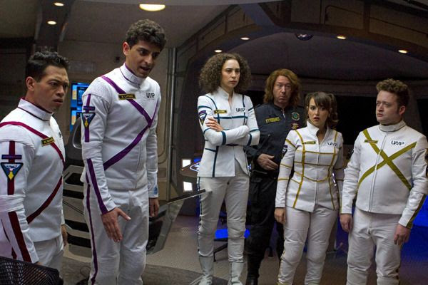 The hilarious cast of the Yahoo! sci-fi comedy series, OTHER SPACE.