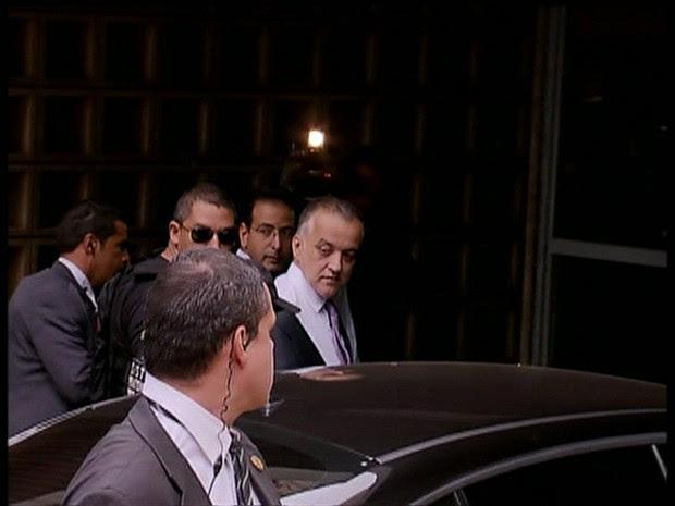 Carlinhos Cachoeira é preso em operação da PF (Gnews) (Foto: Reprodução GloboNews)
