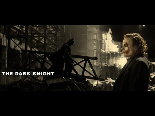 映画ダークナイトの壁紙 ジョーカーとバットマン Desktop Decorator