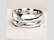 Personalized Half Heart Shaped Promise Rings by onlyuniquegifts   needs   Wedding Rings
