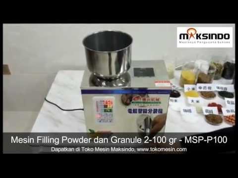 Mesin Filling Tepung Powder dan Granule (biji-bijian)