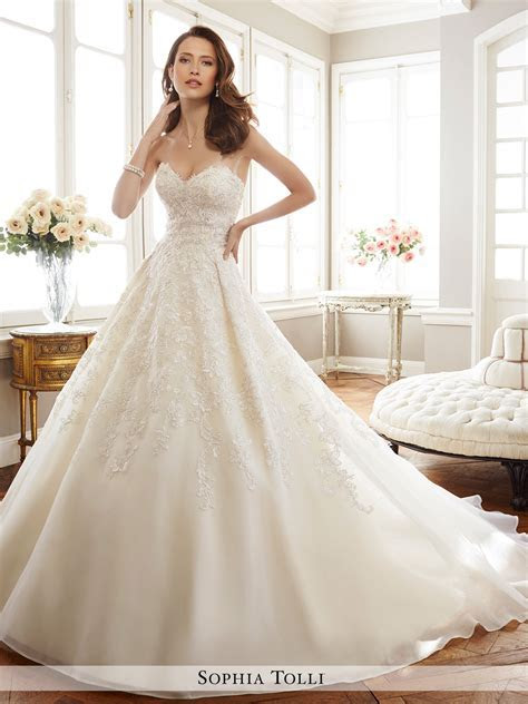 Dress   Sophia Tolli SPRING 2017 Collection   Y11713