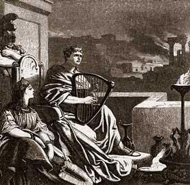 Nero fiddled