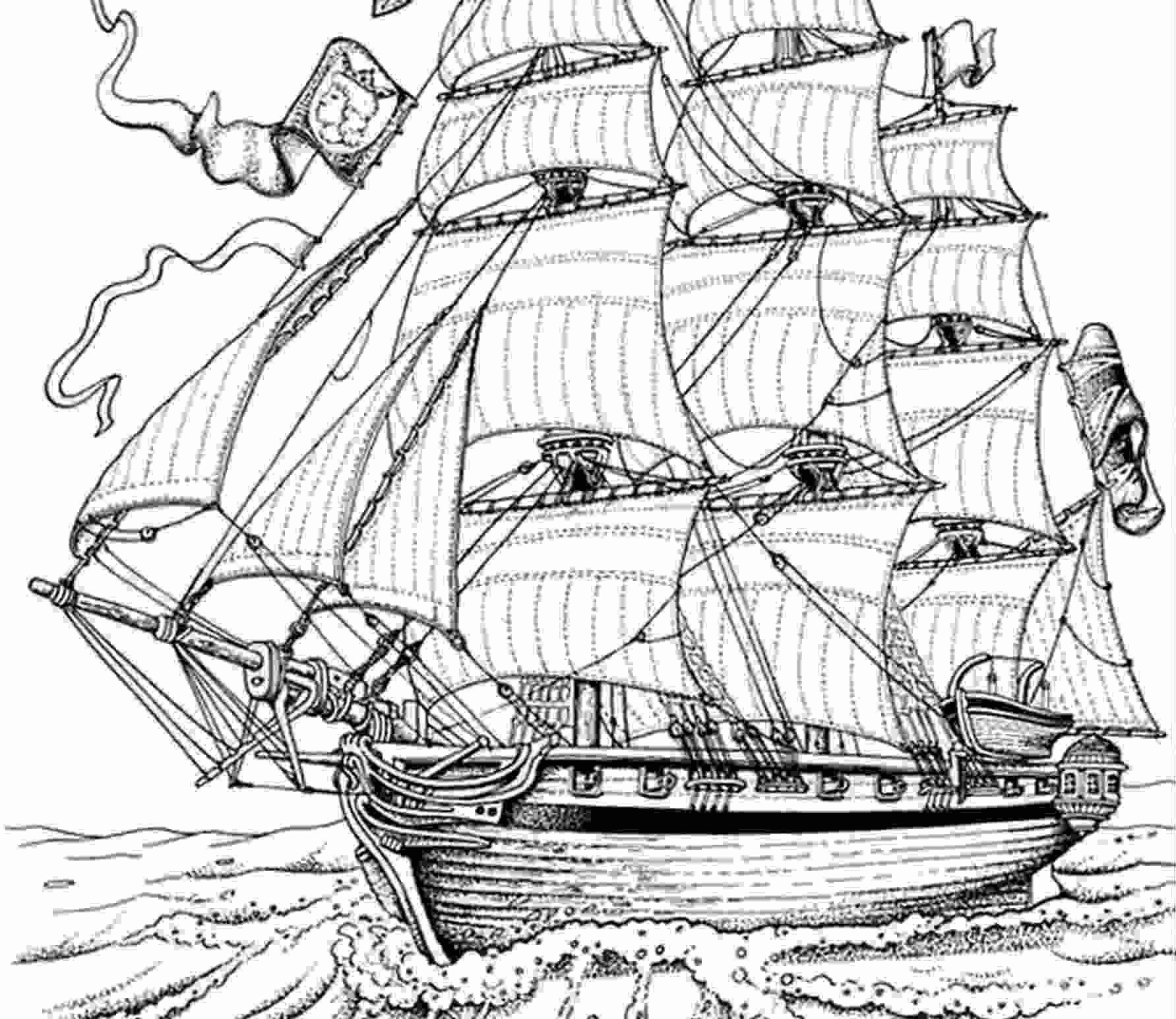 Coloriage  imprimer Personnages féeriques Pirate numéro 1839
