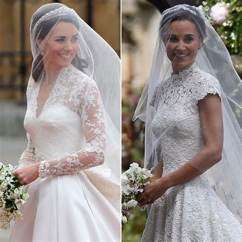 kate middleton  pippa middleton wedding pictures
