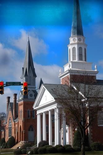Laurens Churches