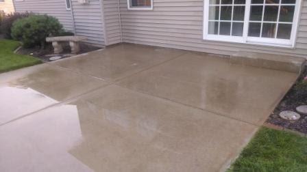 Removing Paint On Concrete Patio - Sandblasting ...