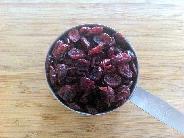1 Cup Dried Cranberries